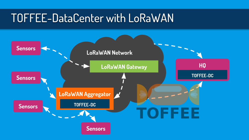 LoRaWAN Network Optimization via TOFFEE WAN Optimization
