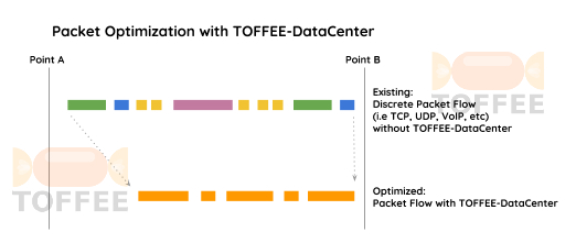 Packet Optimization with TOFFEE-DataCenter