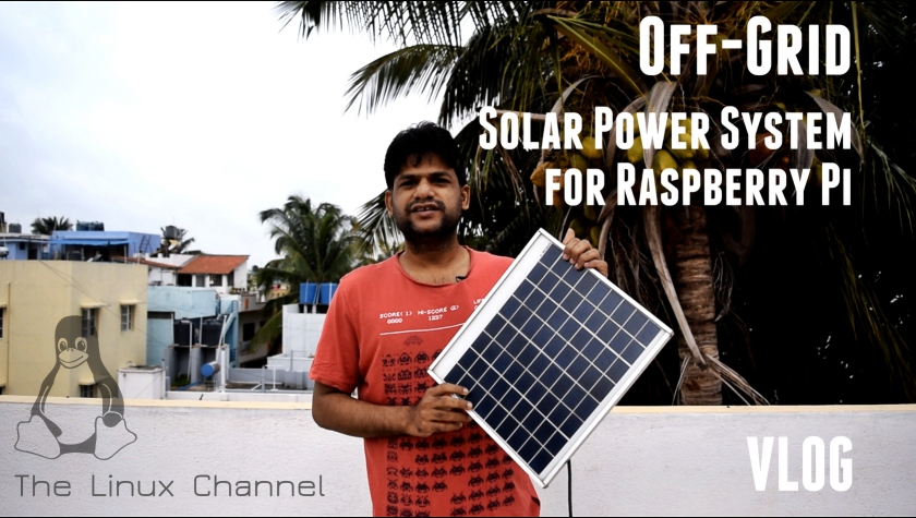 Off-Grid Solar Power System for Raspberry Pi