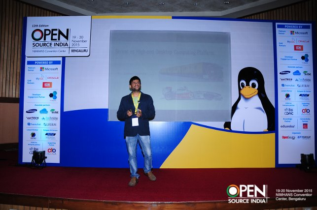 Kiran Kankipati OSIDays 2015 Bangalore India