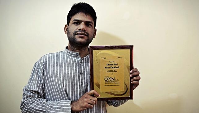 Kiran Kankipati OSIDays Award